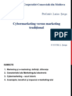 Cybermarketing Versus Marketing Tradițional