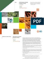 BD Multicolor Antibody Reagents Catalog 20th Edition