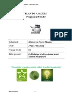 PLAN DE AFACERI  Programul START