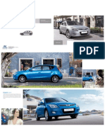 2010 2011 Hyundai i30 Fd Catalog Brochure