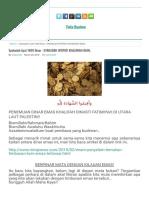 Syahadah Ayat 1000 Dinar