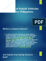 Report Future of Hybrid Vehicles in the Philippines