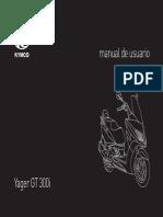 Manual moto kymvo