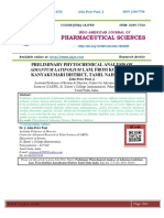 PRELIMINARY PHYTOCHEMICAL ANALYSIS OF ADIANTUM LATIFOLIUM LAM. FROM KOTHIYAR, KANYAKUMARI DISTRICT, TAMIL NADU, INDIA