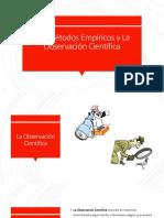 Los Métodos Empíricos y La Observación Científica.pptx