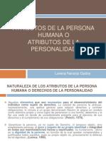 1 Atributos de La Persona Humana o de La Personalidad.pptx