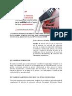 Artículo - Defecto Estructural de Motivación (OHR)