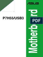 Manual Placa Madre P7H55 USB3