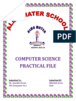 Alma Mater Computer Sci