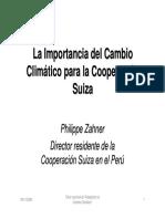 25 - La importancia del cambio climático para la Cooperación Suiza.pdf