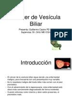Cáncer de vesícula biliar ppt