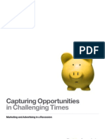 Capturing Opportunities in Chalenging Times