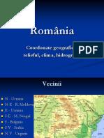 Romania Caracteristici Fizico Geografice