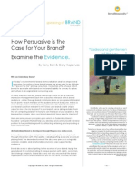 How Persuasive is the Case of Your Brand