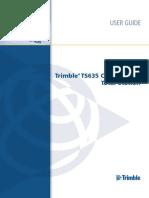 Trimble TS635 UserGuide ENG