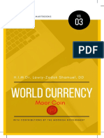 H.I.M Dr. Lawiy-Zodok Shamuel, DD World Currency - The Moor Cash / Coin White Paper