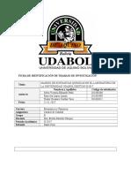 Manejo de Sustancias Quimicas en El Laboratorio de La Universidad Udabol Gestion II-2017
