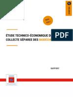 Etude Technico Economique Collecte Separee Biodechets Rapport201801