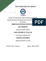 Proyecto de Estadia Alexandra Iriarte Fuentes