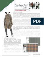 Kaledo Textile Product-datasheet V1a En
