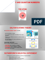 Atomic Theory and Quantum Numbers