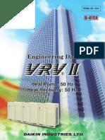 Vrv II Hp Hr 50 Hz r410a Edau39-543