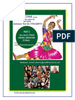 Dance Objective Sample Questio Papaer for FTII SRFTI Entrance Test