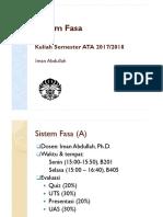 Sistem Fasa 1 (Bab 4)