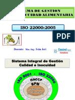 ISO 22000. Noviembre.2014