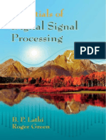 Essentials of Digital Signal Processing Lathi