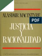 Justicia y Racionalidad