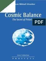 Cosmic Balance; The Secret of P - Omraam Mikhael Aivanhov