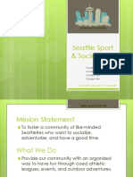 Seattle Sport and Social Club (2015 Sample Ppt)