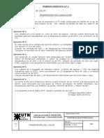 Instalaciones Termicas - Practico 1