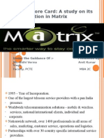 matrix cellular