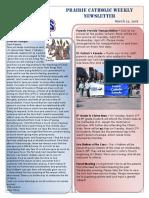 Newsletter 3 22 18