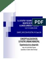 CONCEPTUALIZACIÓN DEL CATASTRO URBANO MUNICIPAL - PERÚ.pdf