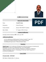 G. D'Souza C.v (1)