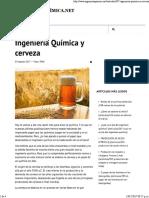 Ingeniería Química y Cerveza - Ingeniería Química