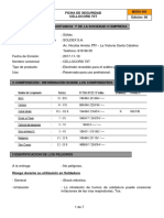 Msds 33 - Electrodo Cellocord 70t