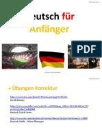 Deutsch A1.1 - Lektion 4