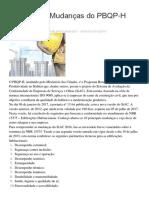 9 Principais Mudanças Do PBQP