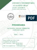 2017-2018 -T3 - Programa Conf