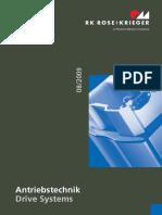 Catálogo Atuadores Lineares Rk