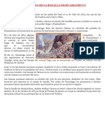 Aniversario de La Batalla de Huamachuco