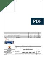 RLP21-U26-OP-I-001 Rev 1 Procedimiento de Aplicacion de Cemento Ignifugo a Estructuras y Equipos