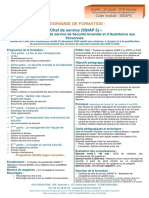 Programme SSIAP3 v2