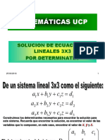 9. Sistema de Ec. Lin Con 3 Incognitas