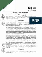 Memoria Anual SIS 2014 - RJ 078-2015-SIS