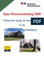 Fietsroute 2006